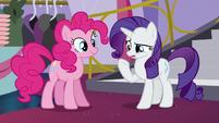 "Rarity ""'nubby scrubby buffy pony pedi"" S5E14"