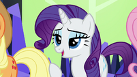 "Rarity ""these jokes have run their course"" S5E22"