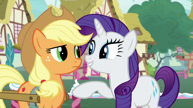 """File:Rarity """"you're the most honest pony there is"""" S7E9.png"""