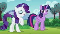 Rarity --We...-- S5E24