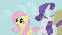 Rarity can't watch S1E04