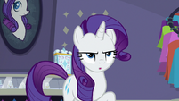 Rarity moving on with the situation S8E4