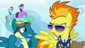 Sky Stinger looking embarrassed at Spitfire S6E24.png