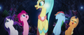 Skystar and her friends swimming together MLPTM.png