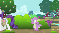 Spike uncertain S4E23
