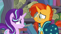 Starlight and Sunburst feeling nervous S6E2