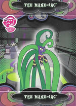 The Mane-iac series 3 trading card standee