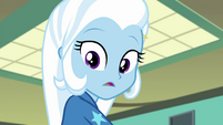 Trixie seeing what Sunset Shimmer is doing EGFF