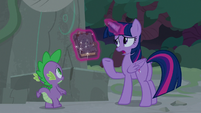 "Twilight ""mystery would just magically be explained"" S7E25"