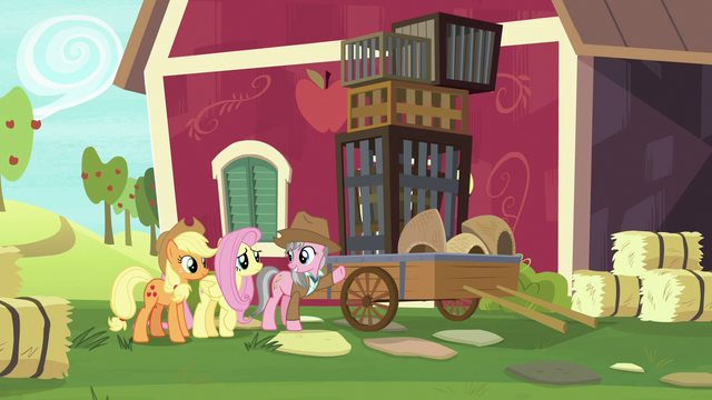 File:Wrangler showing cages to Fluttershy S7E5.png