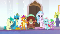 Young Six disapprove of Starlight's decision S8E15