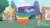 710px-RainbowDash RainblowDry