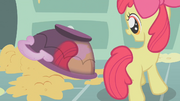 Apple Bloom looking at her reflection S1E12