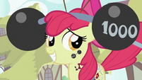 Apple Bloom smiling 2 S2E06