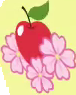Apple Flora cutie mark crop S3E8