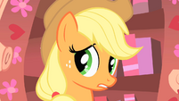Applejack unsure of Rarity S1E08
