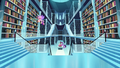 Cadance searching for books; Twilight reads the books to find the spell S6E2.png