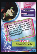 Captain Celaeno MLP The Movie trading card back