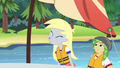 Derpy trying to make a breeze with her breath EG4.png