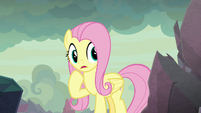 Fluttershy hears a strange sound S9E9