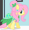 Fluttershy leafy outfit ID S1E20
