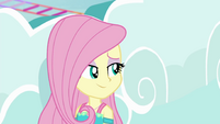 Fluttershy sees through Rainbow's lying EGROF