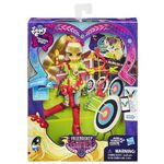 Friendship Games Sporty Style Applejack doll packaging
