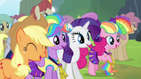 "Mane 4 victorious ""yeah!"" S4E10"
