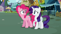 Pinkie Pie Rarity not good S02E19