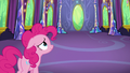 Pinkie Pie enters the empty dining hall S7E1.png