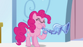 Pinkie Pie playing flugelhorn while alone S3E1.png