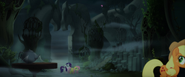 Pinkie Pie pops up in the far background MLPTM