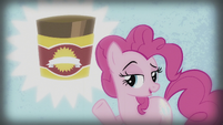 Pinkie in a baking powder 'commercial' S5E8