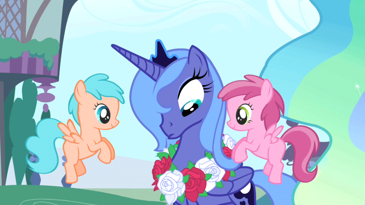 image princess luna wreath pegasus foals s1e02 png my little