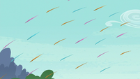Quills flying toward Yona S8E2