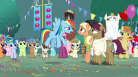 "Rainbow ""still gonna make her leave?!"" S9E12"