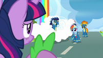 "Rainbow Dash ""a lot more work to do"" S9E26"