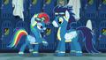 Rainbow Dash acting like Rarity S6E7.png
