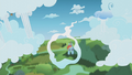 Rainbow Dash flying around the bend S5E25.png