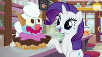 Rarity -I didn't realize your idea would- S7E6