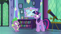 "Spike ""don't you need to get the castle ready"" S7E1"