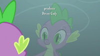 Spike looks at his reflection S9E3