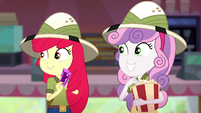 "Sweetie Belle ""so many awesome new details"" SS11"