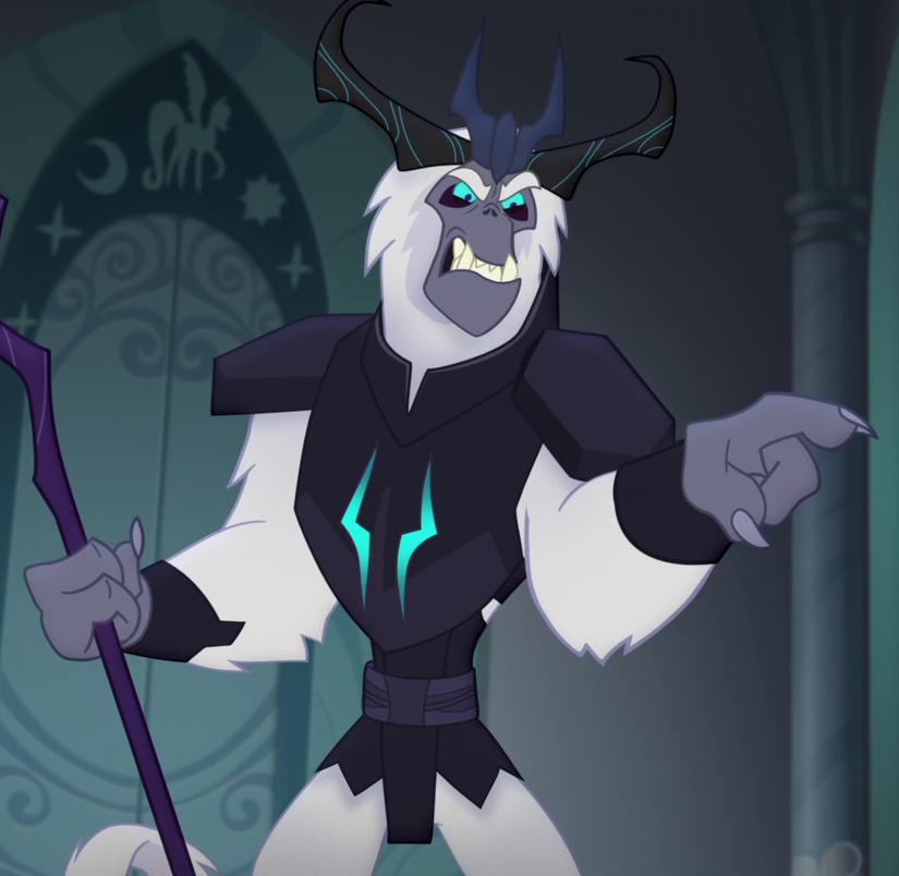 The Storm King My Little Pony Friendship Is Magic Wiki Fandom