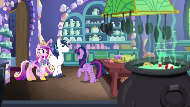 "File:Twilight Sparkle ""just friends and family"" MLPBGE.png"