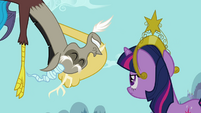 "Twilight and Discord ""out of that prison block"" S03E10"
