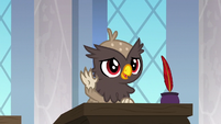 Young griffon in Scootaloo's class S9E26