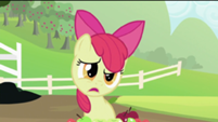 Apple Bloom asking what's uncouth