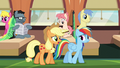 "Applejack ""messed them up somehow"" S6E18.png"