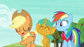 "Applejack ""quicker than Granny Smith can core an apple"" S6E18.png"